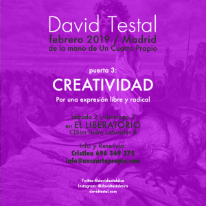 cartel crear Madrid